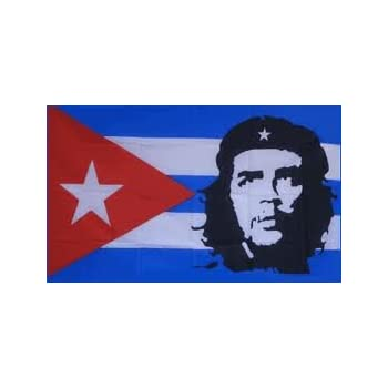 Che Guevara Cuba Flag Polyester 3 ft. x 5 ft.