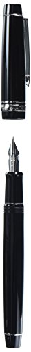 Pilot Fountain Pen Custom Heritage 912, Black Body, FA-Nib (FKVH-2MR-B-FA)