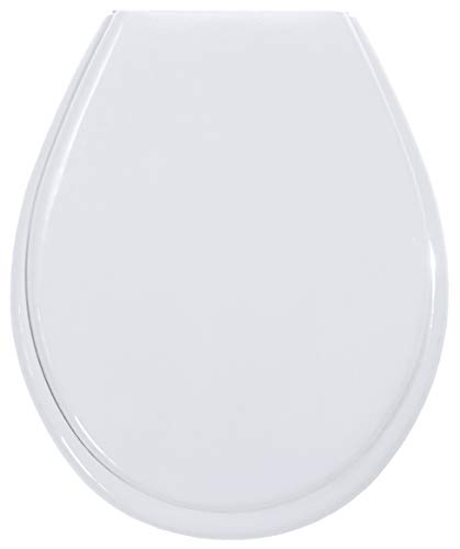 Gelco Design 706574 First Blanc - Tapa para WC, Color Blanco
