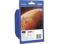 Preisvergleich Produktbild BROTHER LC1100HYRBWBPDR Rainbowpack cyan magenta gelb fuer MFC-5890CN MFC-5895CW MFC-6490CW MFC-6890CDW  DCP-6690CW