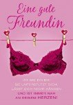 Pink Flamingo Geburtstagskarte Eine gute Freundin ist wie ein BH! Sie..