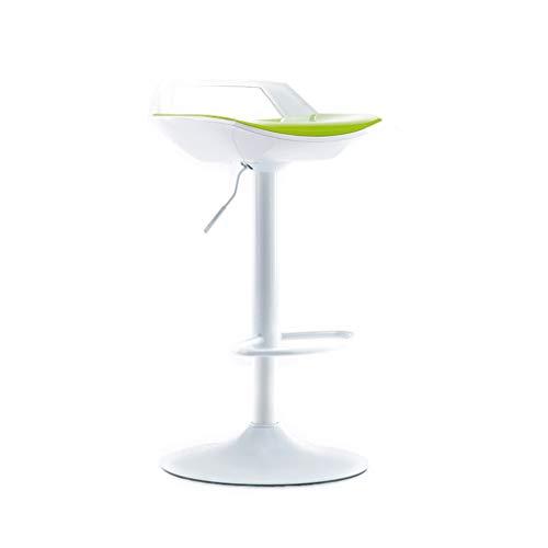 GXDHOME Hohe Barhocker, höhenverstellbare 360-Grad-Schwenker Bequeme solide haltbare ABS Chrom Edelstahl Esszimmer Wohnzimmer (Farbe : C)