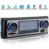 TOOGOO Autoradio Bluetooth MP3 Player Vintage Stereo USB Stereo AUX Classic Car Audio