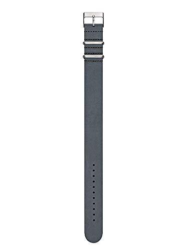 Kerbholz Unisex Erwachsene Leder Uhrenarmband WATWHEI6077