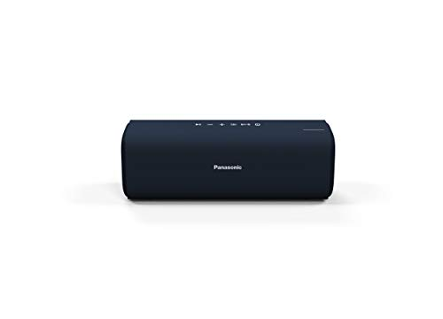 Panasonic Portable Wireless Bluetooth Speaker with 2 Powerful 50mm Driver Unit, 10W Stereo Sound and up-to 8 Hours Playback (SC-NA07GW-A)
