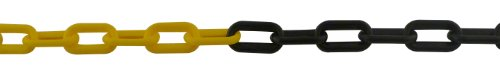 Viso CNJ801SBS Liasse chaîne de signalisation plastique Noir/Jaune