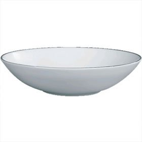Jasper Conran China Platinum Soup Bowl 23cm