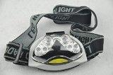 BlueDot Trading- Ultra Bright 6 LED Head Light Lamp Torch Headlight Headlamp with 3 Modes-6 LED