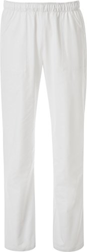 PANTALONE COULISSE CON TASCHE BIANCO TG. XS