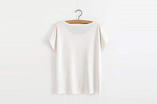 YICHUN Damen T-Shirt Einheitsgröße Dog 32#