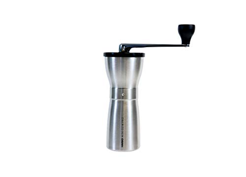 HARIO Kaffeemühle, Stahlfarben, Petite