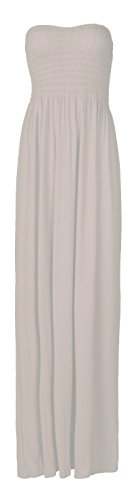 Fast Fashion Damen Maxi Kleid Plus Größe Plain Umführungsvorrichtung - Top Promi Kostüm