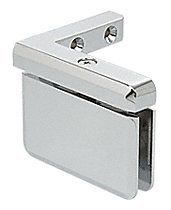 Prima 05-serie (CRL Prima Series 05 Chrome Left Hand Offset Mount Hinge by C.R. Laurence)