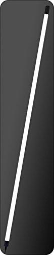 160cm Lönartz® LED Leuchtstab mit großen Ausleuchtbereich (320°), 4600lm 30W 12V, warm weiß (3200k), mit Netzteil und Halterung (LS160-WW)