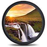 Filtro UV MC – Ultrasottile Multiresistente Rivestito a 16 Strati, Protettivo Ultravioletti per obiettivi Canon Nikon Sony DSLR 77mm
