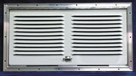 Norcold 617484PW Polar White Lower Side Vent by Norcold Lower Side Vent