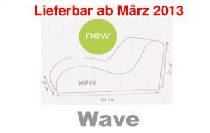 Sitzsack Outbag Wave Kollektion deLuxe in Skin-Kastanie - Schwarz - Deluxe Sitzsack