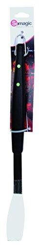 Somagic SO431248 Fourchette Inox Manche Plastique Noir/Vert 44 cm