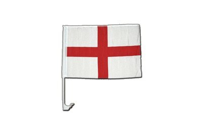 Autofahne Autoflagge England St. George - 30 x 40 cm