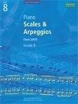 ABRSM  Piano Scales & Arpeggios (from 2009) Grade 8
