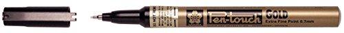Pen-Touch Calligrapher Marker, Farbe Tinte, Gold, 0,02x 4,9x 1,9cm