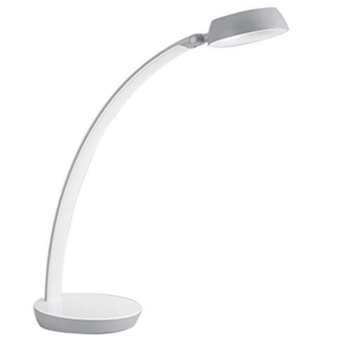 Schreibtischlampen Led Tischlampe Kinder Lernen Lesen Auge Lampe Büro Sicherheit Touch Tischlampe Schlafzimmer Nachttischlampe Multi-Winkel Einstellbar (Color : Weiß, Size : 14 * 32 * 40cm) 10 One-touch-memory