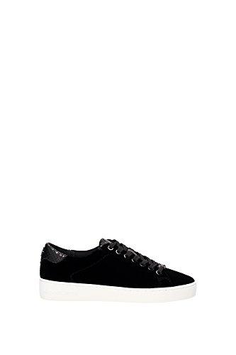 Michael Kors 43F6IRFS2D Sneakers Donna Velluto Nero Nero 36.5