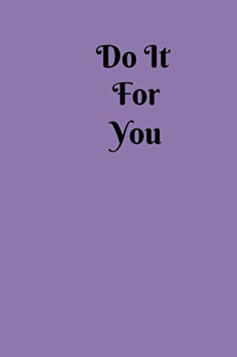 Detox-plan (Do It For You: Small Lined Ruled A5 Notebook (6