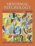 Abnormal Psychology: Current Perspectives by Lauren B. Alloy