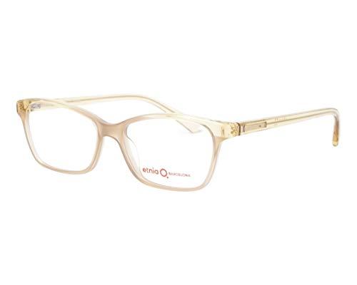 Etnia Barcelona Brille (HALLE BRGR) Acetate Kunststoff kristall beige