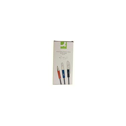 Einwegkugelschreiber, 0,7 mm, blau Einwegkugelschreiber mit komfortabler Gummigriffzone. Kappe mit Clip. Transparenter Schaft.