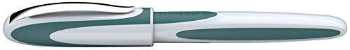 Schneider Ray Tintenroller (Nachfüllbar mit Standard Tintenpatronen, geeignet für Rechts- und Linkshänder) 1 Stück teal