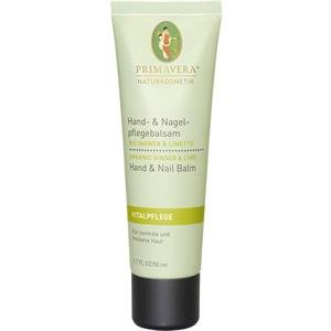 Primavera Hand- & Nagelpflegebalsam Ingwer Limette 50 ml