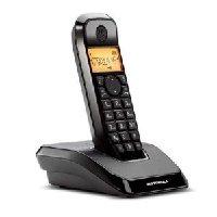Motorola S1201 - Tel  fono fijo inalambrico  negro