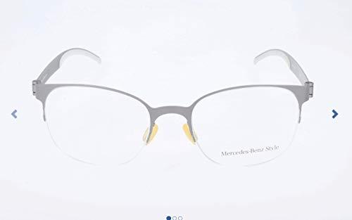 Mercedes Benz Herren M6042 Brillengestelle, Silber, 52