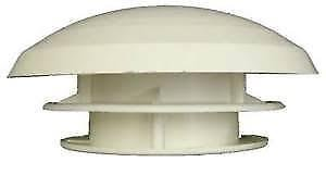 MPK - Seta de ventilación fija para caravanas, 110 mm-150 mm