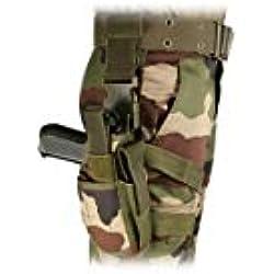 Holster tactical de cuisse Camo CE - Patrol - Gauche - Multicolore