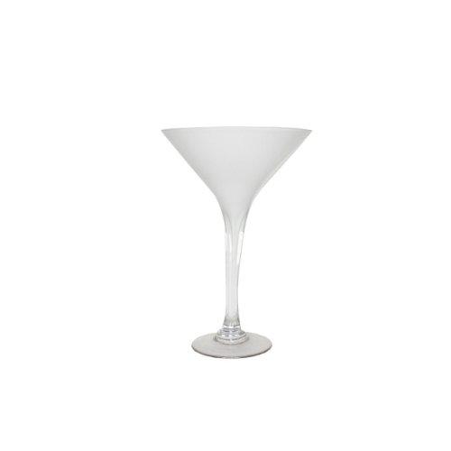 Essentials Décor Fußballhose Entrada Collection Martini Glas Vase, 10,5von 10,5von 20, klar (Elegante Martini-gläser)