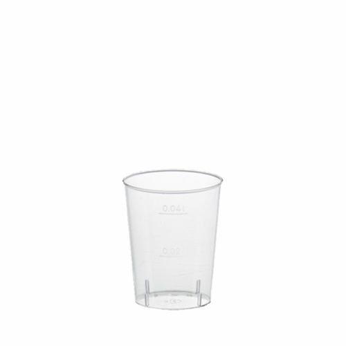 PAPSTAR Kunststoff-Schnapsglas, 4 cl, glasklar VE = 1