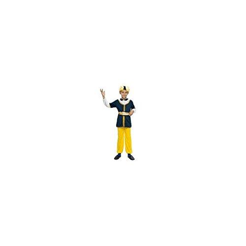 Kinder Sultan Kostüm - DISFRAZ Sultan TALLA 7-9-AÑOS - 7-9 Años