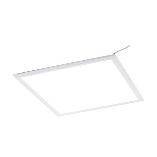 LED Panel SALOBRENA ECO in Aluminumgehäuse weiss 45 x 45 cm H:1,1cm - Eco-panel