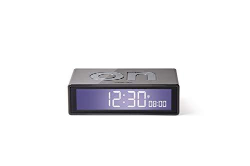 Lexon Flip+ - Reloj Despertador con Pantalla LCD Metal