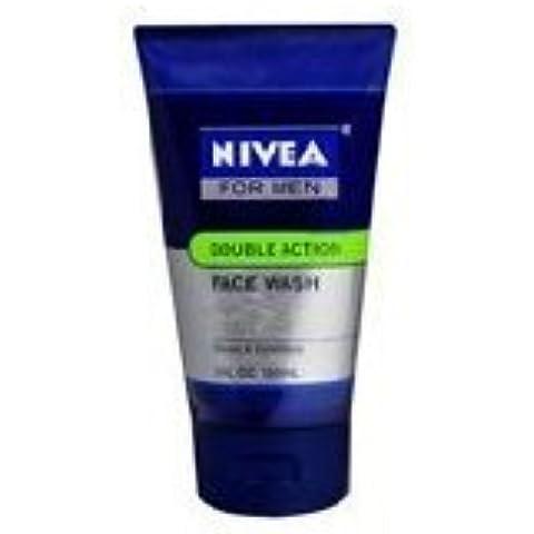 Nivea For Men Double Action Moiosture Rich Face Wash 150ml