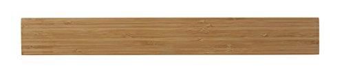 Mercer Culinary Magnetleiste 45,7 x 6 x 1,9 cm (18 x 2 3/8 x 3/4 Zoll), Bambus 18 x 2-3/8 x 3/4
