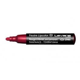 Levana - Feutre Lipcolor Rubis 15 rouge à lèvres semi permanent