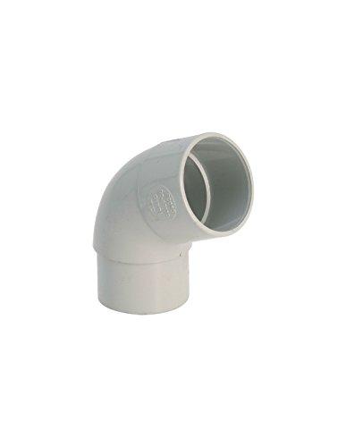 Coude 87°30 MF PVC gris (16 - 50 - < 30 m?)