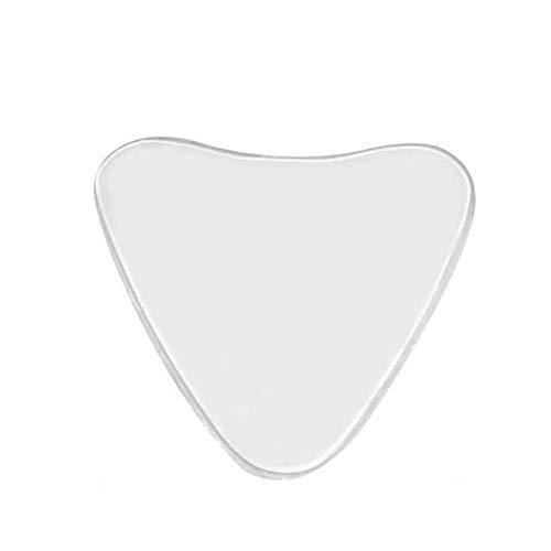 Brust Brust Anti-Falten-Dekollete Pad Dekolleté Falten Silikon-Kasten-Auflage-Wiederverwendbare Anti-Falten-Brust-Aufkleber - Transparent