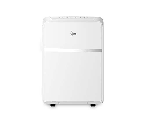 Suntec Wellness 14284 SUNTEC mobiles lokales Klimagerät Impuls 3.5 Eco [Räume bis 130 m³ (~60 m²), Kühlen + Entfeuchten mit ökologischem Kühlmittel R290, 12.000 BTU/h, Energieeffizienzklasse A], 240 V