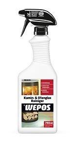WEPOS Kamin und Ofenglas Reiniger 750 ml