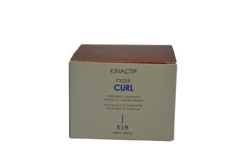 Kin Kinactif Curl Repairing and Moisturising Mask Treatment for Curly Hair - 200 ml by Kin Cosmetics